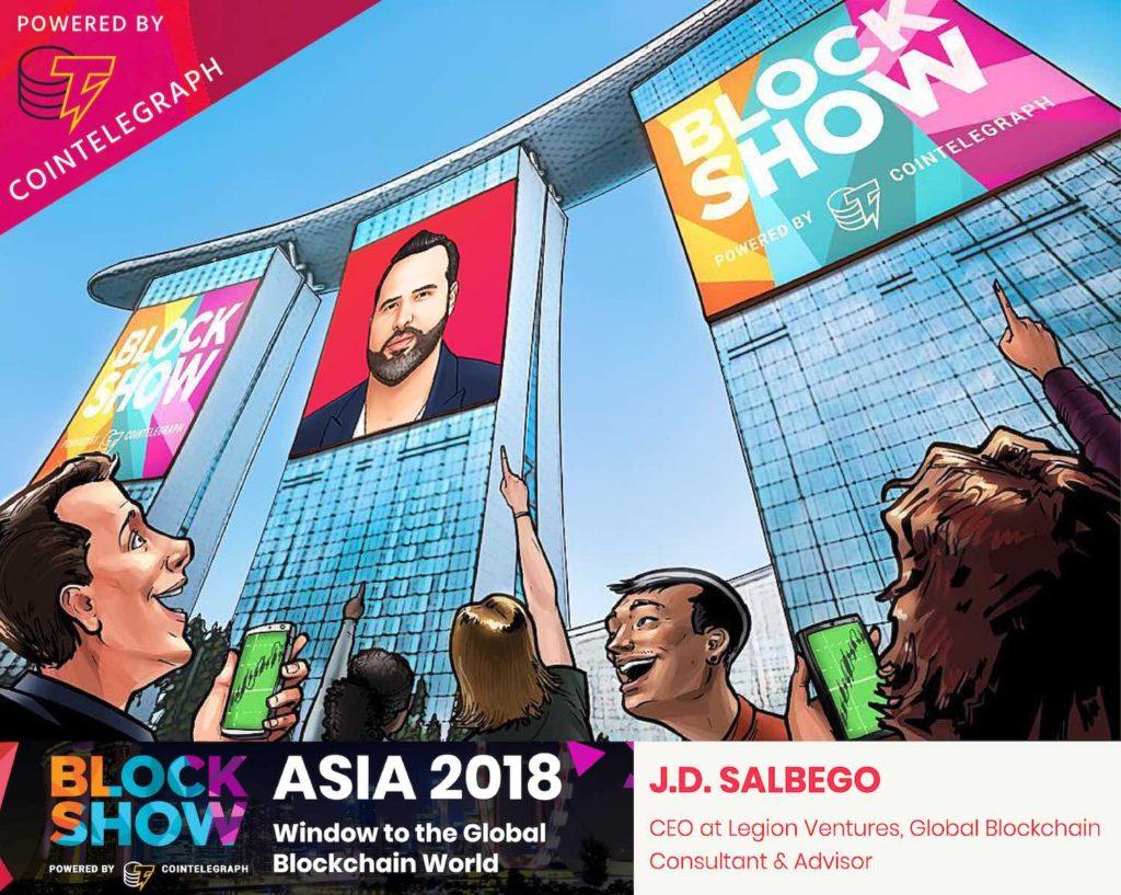 J.D. Salbego Speaks at Blockshow 2018 Singapore