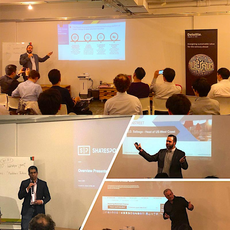 J.D. Salbego Presents a Keynote on Digital Securities with SharesPost and Brave New Coin at Tokyo FinTech Event Partnered with Deloitte Japan