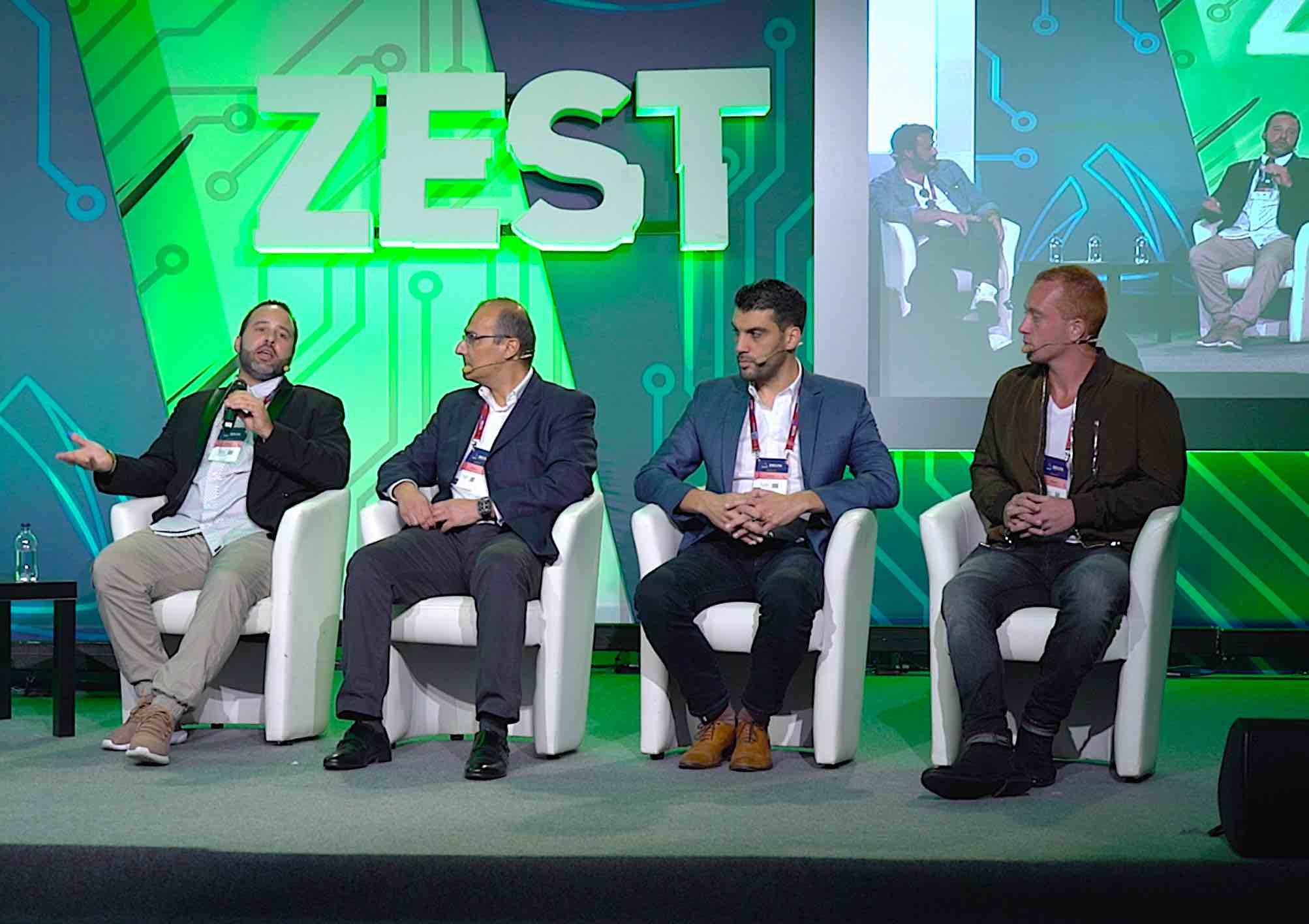 J.D. Salbego speaking at Delta Summit Malta 2018 partnered with Bloomberg Media Group