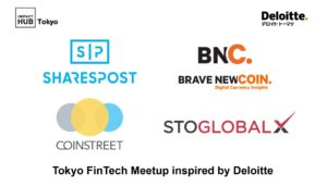 J.D. Salbego Speaks with SharesPost and Brave New Coin at Tokyo FinTech Event Partnered with Deloitte Japan