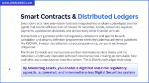 Smart Contracts and Distributed Ledgers by J.D. Salbego