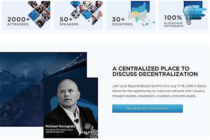 J.D. Salbego Attends Byond Blocks Blockchain Week Seoul 2018