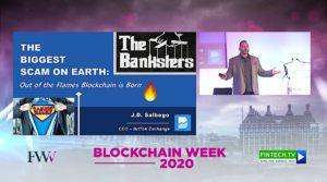 JD-Salbego-London Blockchain Week 2020-Key Note Presentation